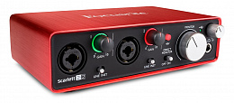 АУДИО ИНТЕРФЕЙС FOCUSRITE SCARLETT 2I2 2nd Gen USB
