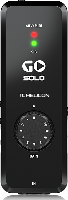Аудио/MIDI интерфейс TC HELICON GO SOLO