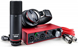 Комплект FOCUSRITE SCARLETT 2I2 Studio 3nd Gen
