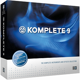 Пакет программ NATIVE INSTRUMENTS KOMPLETE 9